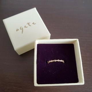 アガット(agete)のagete ピンキーリング K10(リング(指輪))