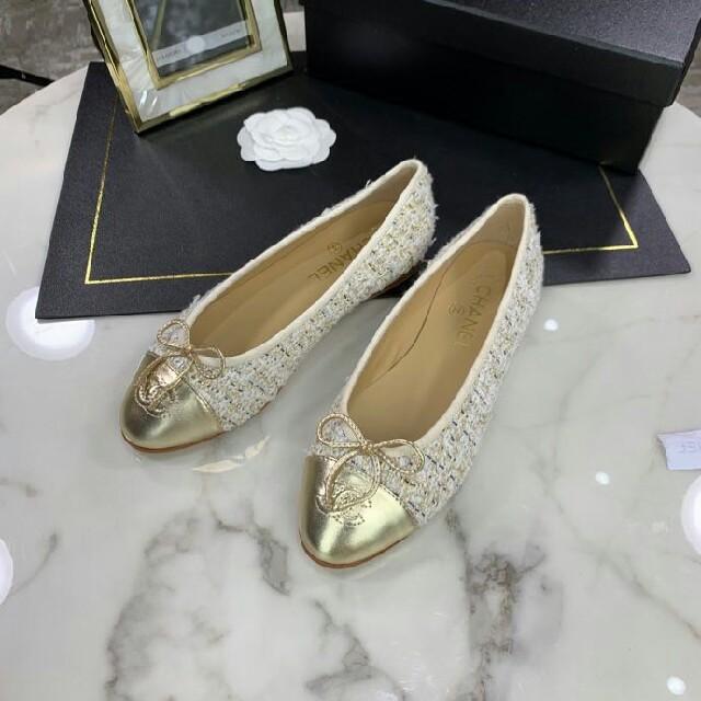 CHANEL(シャネル)のCHANEL シャネル   シューズ レディースの靴/シューズ(バレエシューズ)の商品写真