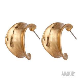 スライ(SLY)のretro matte pierce〈GOLD〉(ピアス)