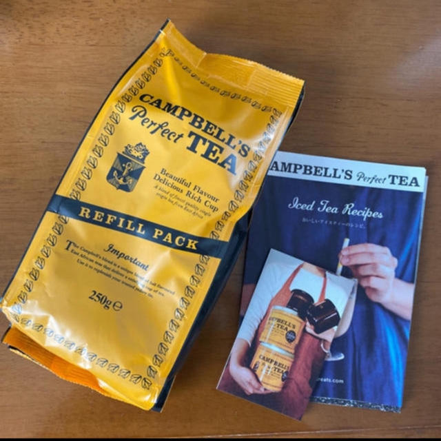 KALDI(カルディ)の残り1個‼︎Campbell's Perfect Tea  250g袋入り 食品/飲料/酒の飲料(茶)の商品写真
