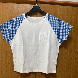 パーリッシィ(PAR ICI)のチェック柄 Tシャツ(Tシャツ(半袖/袖なし))