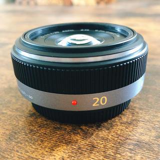 Panasonic - Panasonic 単焦点 20mm/F1.7 ボカし撮影に 美品 おまけつき