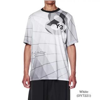 Y-3 - Y-3 ワイスリー フットボールシャツ メッシュTシャツ