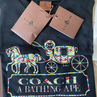 アベイシングエイプ(A BATHING APE)のcoach ape (Tシャツ/カットソー(半袖/袖なし))