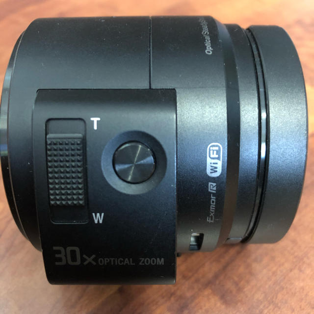 SONY(ソニー)のSONY Cyber−Shot QX DSC-QX30  スマホ連動 スマホ/家電/カメラのカメラ(コンパクトデジタルカメラ)の商品写真