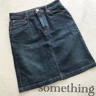 SOMETHING - SOMETHING サムシング*ヴィーナスジーン タイトスカート S