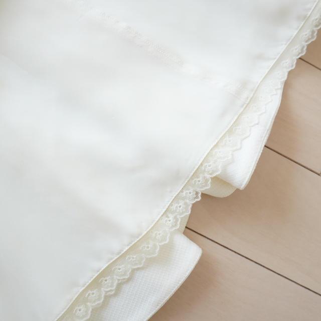 FOXEY(フォクシー)の美品 フォクシー♡ワンピース ホワイト 40 レディースのワンピース(ひざ丈ワンピース)の商品写真