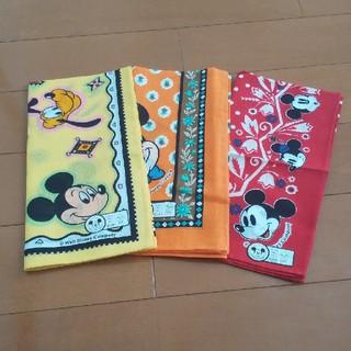 Disney - Disney ディズニー バンダナ 3枚セット