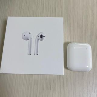 Apple - AirPods 第2世代 本体のみ ほぼ未使用 シリコンカバー付