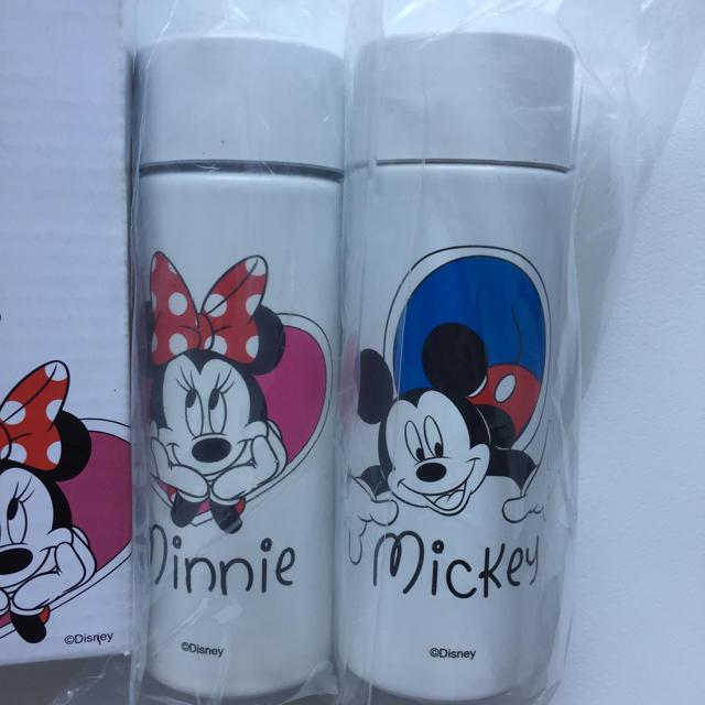 Disney(ディズニー)のポケットボトル 真空ボトル 二重構造 タンブラー ミッキーマウス ミニー キッズ/ベビー/マタニティの授乳/お食事用品(水筒)の商品写真