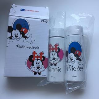 Disney - ポケットボトル 真空ボトル 二重構造 タンブラー ミッキーマウス ミニー