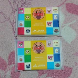 アンパンマン(アンパンマン)のJA アンパンマン ポケットティッシュ 2個セット まとめ売り(日用品/生活雑貨)