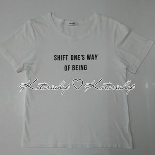 マイストラーダ(Mystrada)のMystrada シンプルロゴTシャツ ホワイト 38(M)size(Tシャツ/カットソー(半袖/袖なし))
