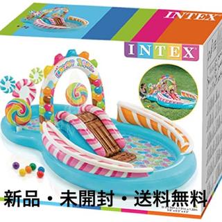 【新品・未開封】プール INTEX キャンディプレイセンター