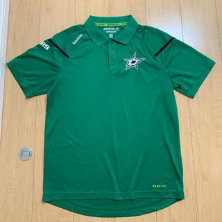 リーボック(Reebok)のNHL スターズ ポロシャツ 日本Lサイズ 美品 リーボック(トレーニング用品)