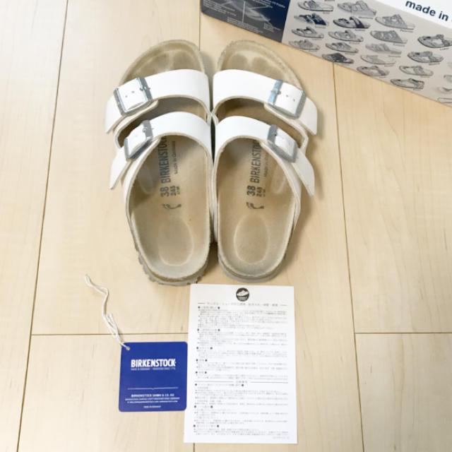 BIRKENSTOCK(ビルケンシュトック)のみーまー様専用 アリゾナ サンダル 38 24.5 レディースの靴/シューズ(サンダル)の商品写真