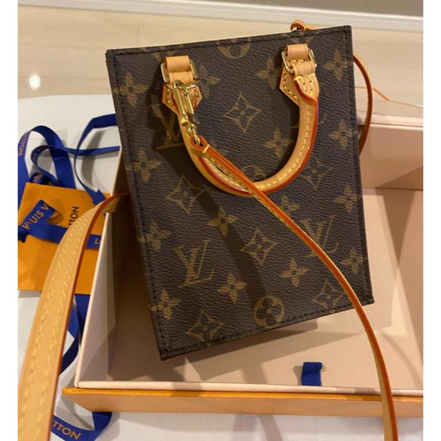 LOUIS VUITTON(ルイヴィトン)の専用新作 新品 ルイヴィトン モノグラム プティット・サックプラ レディースのバッグ(ショルダーバッグ)の商品写真