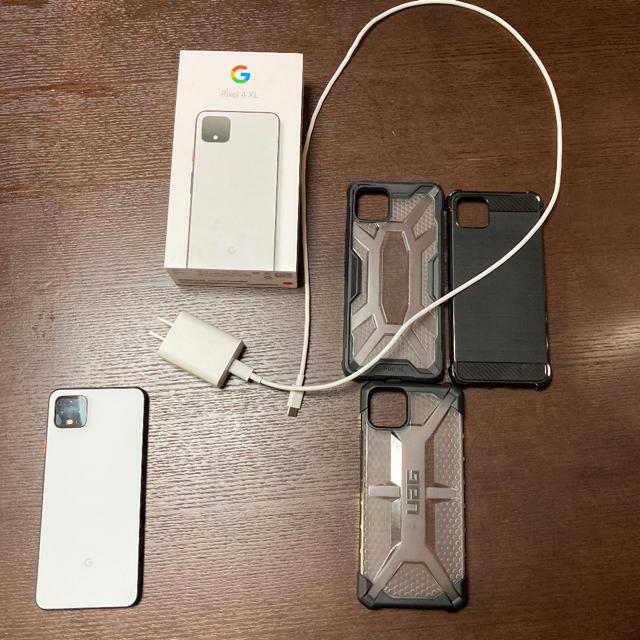ANDROID(アンドロイド)のGoogle pixel 4xl ホワイト 64gb simフリー  スマホ/家電/カメラのスマートフォン/携帯電話(スマートフォン本体)の商品写真