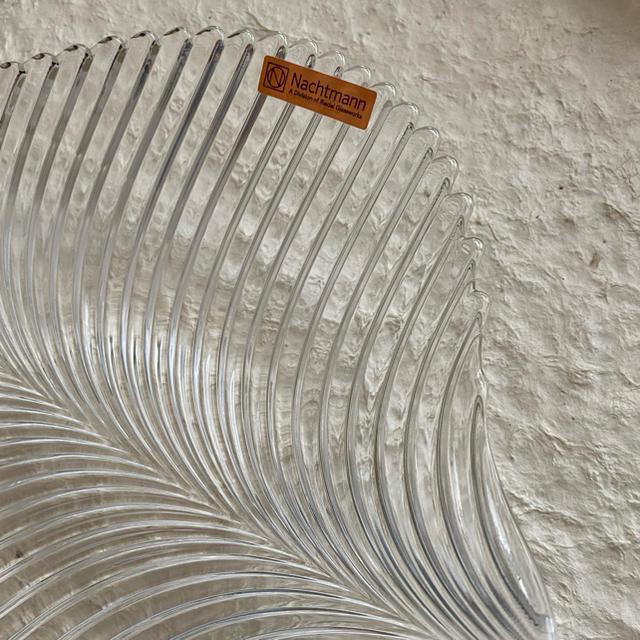 Nachtmann(ナハトマン)のガラス ボール プレート nachtmann インテリア/住まい/日用品のキッチン/食器(食器)の商品写真