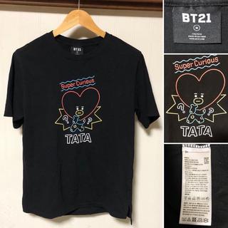 ボウダンショウネンダン(防弾少年団(BTS))のレア❗️BT21 防弾少年団 TATA Tシャツ テヒョン テテ(Tシャツ/カットソー(半袖/袖なし))