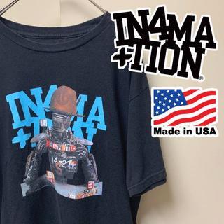 インフォメーション(IN4MATION)のIN4MATION インフォメーション Tシャツ ブラック M スケーター系(Tシャツ/カットソー(半袖/袖なし))