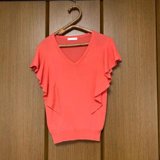 エージーバイアクアガール(AG by aquagirl)のAG by aquagirl オレンジ コットン100%(カットソー(半袖/袖なし))