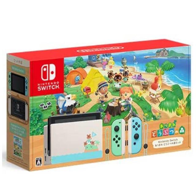 Nintendo Switch(ニンテンドースイッチ)のNintendo Switch あつまれ どうぶつの森 セット 本体 新品未開封 エンタメ/ホビーのゲームソフト/ゲーム機本体(家庭用ゲーム機本体)の商品写真