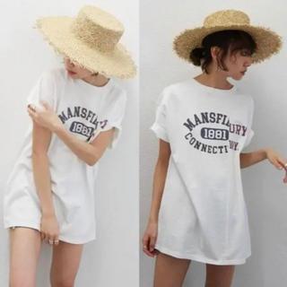 Ungrid - Ungrid リメイクTシャツ