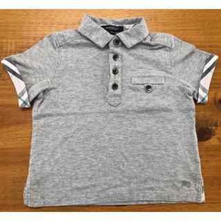 BURBERRY - バーバリー ポロシャツ  グレー 100cm
