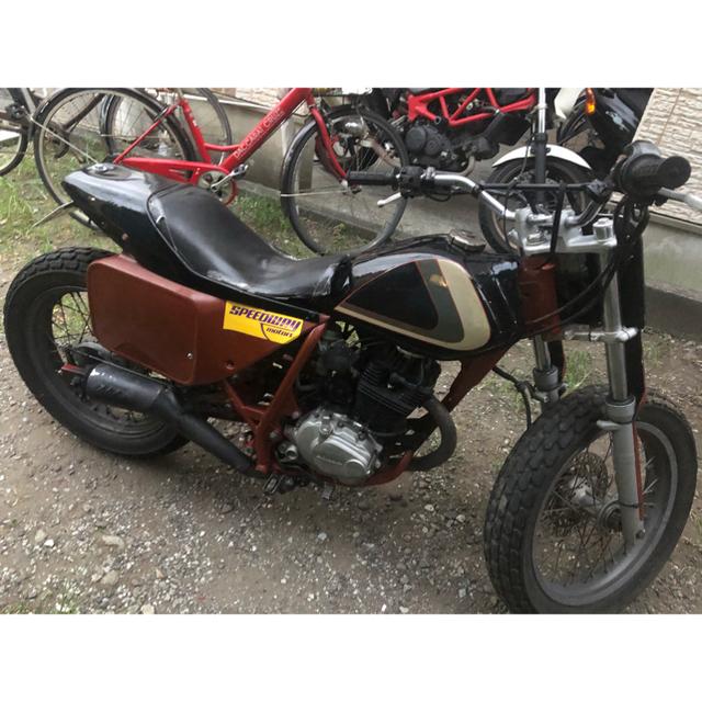 ホンダ(ホンダ)のFTR223  トラッカー仕様 最安値で出品中 自動車/バイクのバイク(車体)の商品写真