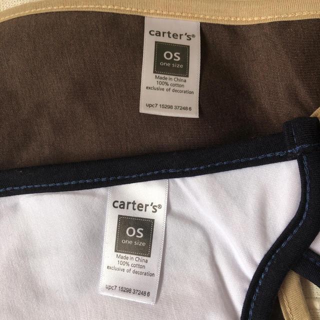 carter's(カーターズ)のスタイ キッズ/ベビー/マタニティのこども用ファッション小物(ベビースタイ/よだれかけ)の商品写真