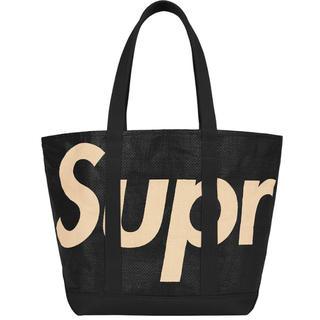 Supreme - Supreme raffia tote Black 送料込