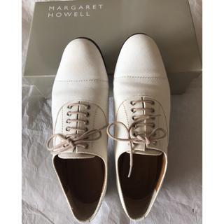 マーガレットハウエル(MARGARET HOWELL)のマーガレットハウエル❤️レースアップシューズ(ローファー/革靴)