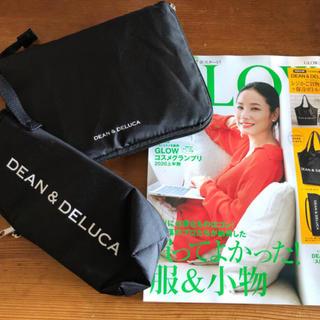 """DEAN & DELUCA - GLOW付録完売品❗️大人気DEAN&DELUCAエコバック""""&ボトルケース新品"""