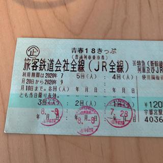 青春18きっぷ 2回(鉄道乗車券)