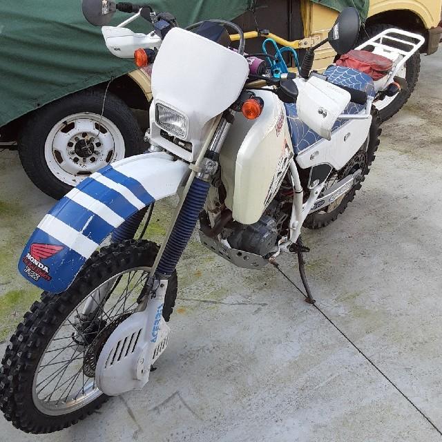 ホンダ(ホンダ)の書付き XR250 逆車 自動車/バイクのバイク(車体)の商品写真