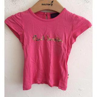 ポールスミス(Paul Smith)のPaul Smith ポール スミス Tシャツ 花柄ロゴ ピンク 67cm(Tシャツ)