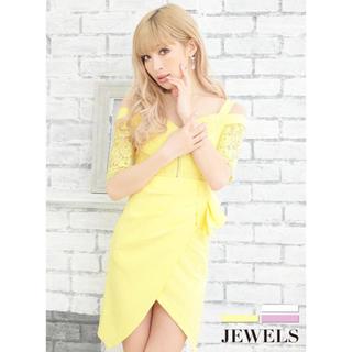 JEWELS - Jewels 新品 オフショル ミニドレス キャバドレス