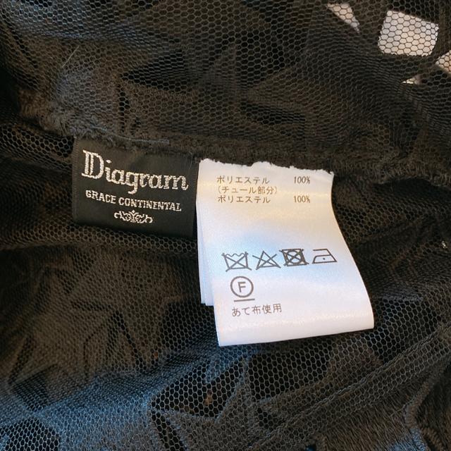 GRACE CONTINENTAL(グレースコンチネンタル)の即完売 美品グレースコンチネンタルDiagramスターレーストップス星 レディースのトップス(シャツ/ブラウス(長袖/七分))の商品写真