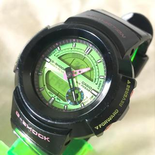 カシオ(CASIO)のCASIO G-SHOCK ジーショック 黒デジアナ腕時計 AW582SC(腕時計(デジタル))