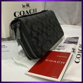 COACH - 新品未使用COACH 長財布 F93504ブラック