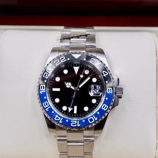 国内発送★高品質ムーブメント・メンズ自動巻き腕時計GMT
