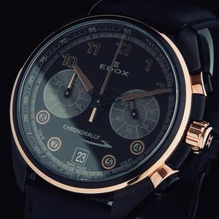EDOX - ◆特別価格◆ EDOX エドックス クロノラリーS メンズ腕時計 クロノグラフ