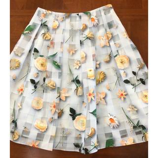 M'S GRACY - エムズグレイシー2019年お花スカート未使用40