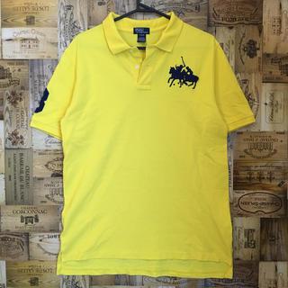 POLO RALPH LAUREN - 美品 ラルフローレン 高級 ペルー製 刺繍 ポロシャツ Tシャツ ビックポニー