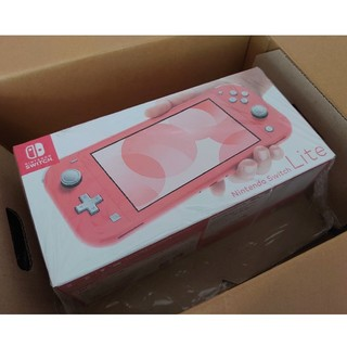 Nintendo Switch - 新品 Nintendo Switch Lite コーラルピンク 任天堂スイッチ