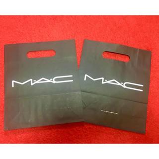 マック(MAC)のMAC ショッパー ショップ袋 紙袋 2枚(ショップ袋)