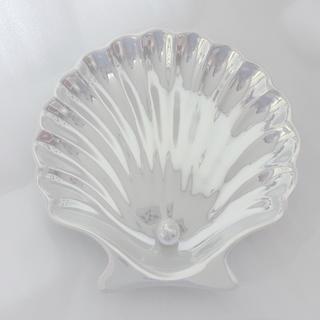 フランフラン(Francfranc)のFrancfranc◆オパールシェルプレート S◆ホワイト◆新品(食器)