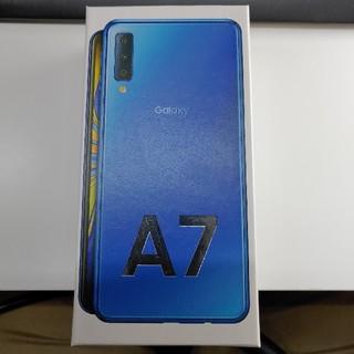 サムスン(SAMSUNG)の楽天モバイル GALAXY A7 新品未使用 未開封(スマートフォン本体)