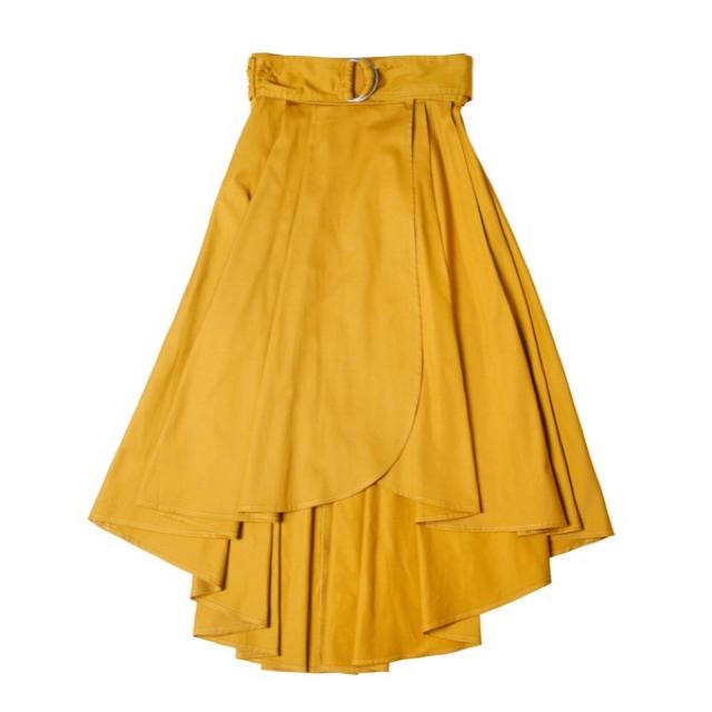 eimy istoire(エイミーイストワール)のeimy istoire♡新品♡即完売♡バックロングラップフレアスカート レディースのスカート(ロングスカート)の商品写真